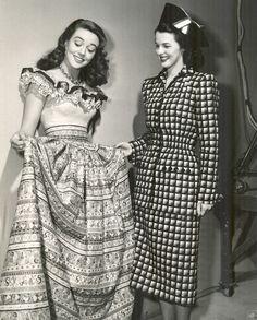 40s Fashion Dress Suit