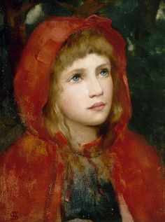 "William M. Spittle (1858-1917), ""Red Riding Hood"" 