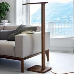 porada gru floor lamp, by m. marconato & t. zappa