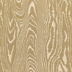 Faux Bois Weave   68830 in Bronze   Schumacher Fabric