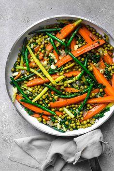 Spring Recipes, Easter Recipes, Vegetable Side Dishes, Vegetable Recipes, Side Recipes, Healthy Recipes, Healthy Foods, Beef Sirloin Tip Roast, Sugar Glaze
