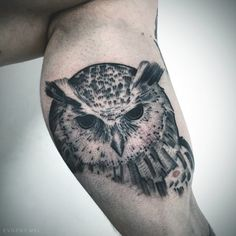 #evgenymel #engraving #dotwork #whipshading #Moscow #owl #tattoo #tattooartist #blackwork