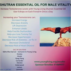 So excited about this new essential oil product for men!! Targets so many male health issues in every drop! For more info or to order www.EssentialOilsEnhanceHealth.com