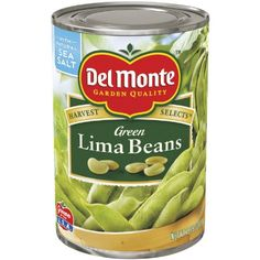 Del Monte Green Lima Beans, 15.25-Ounce Cans (Pack of 12) ** Remarkable product available  : Quick dinner ideas