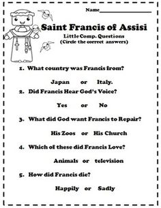 a biography of st francis of assissi The founder of the order of poor ladies, st clare of assisi was an italian saint and one of the first followers of st francis of assisi st clare of assisi was born into a wealthy italian .