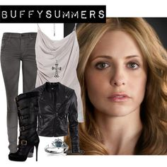 """Buffy Summers"" by caskett on Polyvore"