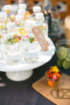 Tiny Canal Cottage Cocktail Party | theglitterguide.com