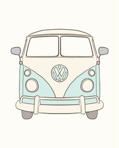 64 Trendy Cars De Disney Dibujos A Lapiz The Effective Pictures We Offer You About cars accessories A quality picture can tell you many things. Tumblr Stickers, Cute Stickers, Van Stickers, Van Drawing, Bus Art, Pencil Drawings Of Animals, Volkswagen Bus, Vw Camper, Aesthetic Stickers