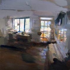 "Saatchi Art Artist: Carlos San Millan; Oil 2014 Painting ""Interior #101"""