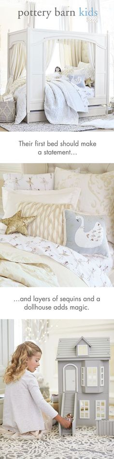 Dazzle and delight the little ones in your life. Pottery Barn Kids offers everything you need, from furniture and bedding, to toys and accessories. With endless must-haves to choose from, you're sure to find that one special gift that they'll always remember.
