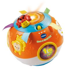 Baby Musical Toys - VTech Move and Crawl Baby Ball Orange Frustration Free Packaging *** You can find more details by visiting the image link. Toddler Toys, Baby Toys, Kids Toys, Fisher Price, V Tech, Lego, Musical Toys, Top Toys, Learning Toys