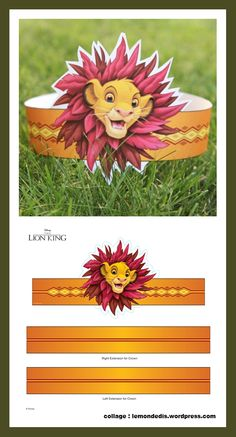 roi lion c&a Lion Birthday Party, Lion King Birthday, Baby Boy Birthday, Birthday Party Themes, Lion King Theme, Lion King Party, Jungle Party, Jungle Theme, Jungle Lion