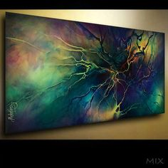 PAINTINGS ART ABSTRACT A MODERN Contemporary DECOR Lang