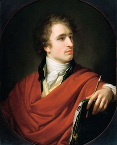 Heinrich Friedrich Fuger, Portrait of the Painter Joseph Karl Stieler, 1805