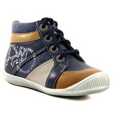 76b0c6106 157A GBB PRAGUE MARINE www.ouistiti.shoes le spécialiste internet   chaussures  bébé