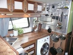 boat kitchen ideas - great organization