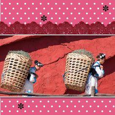 "Made with #CarolineB ""One Sweet Day"" kits. CarolineB-Design dot com MyMemories"