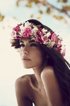 "Life in pics: Editorials: ""Tahitian dreaming"" - Pia Miller by Darren McDonald"