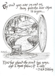 tolkien http://onbecomingalemonademaker.wordpress.com/2013/12/13/making-a-change-how-do-i-take-that-first-step/