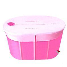 Adult Big Size 110*65*60 double folding bathtub bath tub /with cover foot pump…