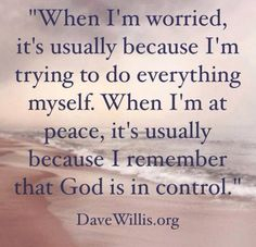Eliminate your worry gene