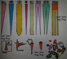 schema perline di carta – Nonsoloragrug.com Paper Beads Tutorial, Paper Beads Template, Make Paper Beads, Paper Bead Jewelry, Quilling Jewelry, Paper Quilling, How To Make Beads, Quilling Patterns, Quilling Designs