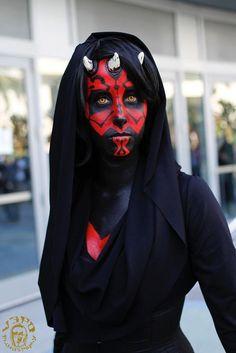 Star Wars Darth Maul Kostüm selber machen | Kostüm Idee zu Karneval, Halloween & Fasching