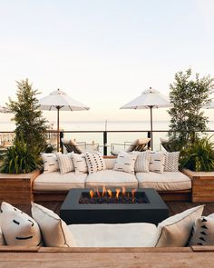 Organic Gardening Supplies Needed For Newbies Surfride Hotel Malibu Los Angeles Firepit Exterior Outdoor Buffet, Outdoor Seating, Outdoor Spaces, Outdoor Living, Outdoor Decor, Outdoor Lounge Sets, Deck Lounge Ideas, Outdoor Ideas, Backyard Patio