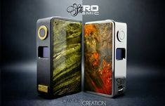 Carlos Creation has many new projects going on including his new Premium Collection the Stallion and Cosmic line. Stallion – focus is to create a luxurious mod but yet having the...