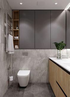 Wc Bathroom, Bathroom Layout, Bathroom Furniture, Modern Bathroom, Downstairs Bathroom, Furniture Storage, Bathroom Lighting Design, Bathroom Design Luxury, Bathroom Design Small
