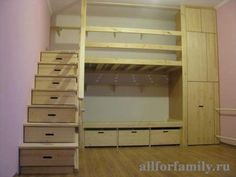 """Explore our website for additional relevant information on """"bunk bed designs space saving"""". It is actually an outstanding area to read more. Bunk Beds Small Room, Bunk Beds With Stairs, Cool Bunk Beds, Kids Bunk Beds, Small Rooms, Small Spaces, Attic Stairs, Mini Loft, Bunk Bed Designs"""