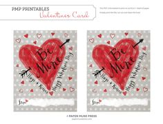 Valentine's Day Printable PDF