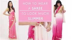 Watch step-by-step how to wear your saree to look slimmer. As beautiful as sarees look, sometimes they tend to make some of us look a little plump, because of the layers and drapes. If youre really skinny the problem of bunching arises because you have to wrap more layers around you, and if youre not skinny theres a possibility that youre saree is making you look plump because of the way its draped. So, I use 3 basic rules while draping a saree, to accentuate my figure and make me look…