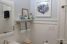 Tiny bathroom DIY remodelreveal!