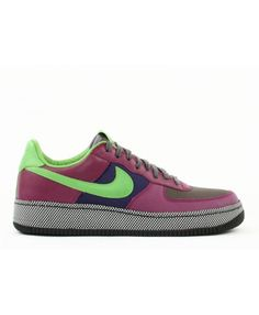 new style 67c90 07719 Air Force 1 Low Inside Out Midnight Fog, Green Bean-Grape 312486-031