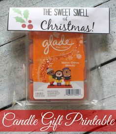 Brightening Your House with Holiday Scents + Free Candle Gift Printable #SmellsClean