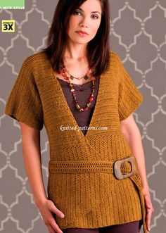 Angles and Lines Top ( free crochet pattern )