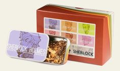 Sherlock tea blends
