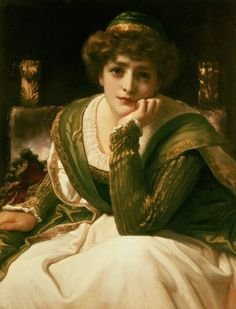 Desdemona, Frederic Leighton    Place of Creation: United Kingdom