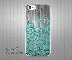iPhone 5 Case iPhone 4 / 4S Case Hard Plastic or by RedCase13, $12.99