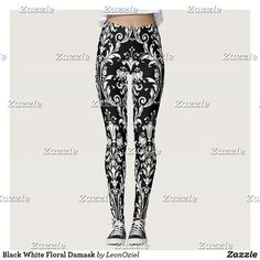 Discover Elegant leggings at Zazzle! Use your own images and text or choose from thousands of patterns and designs. Gym Fashion, Fashion Outfits, Leggings Fashion, Vintage Patterns, Dressmaking, Yoga Leggings, Yoga Pants, Fitspiration, Damask