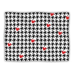 KESS InHouse Empire Ruhl Spacey Houndstooth Fleece Baby Blanket 40 x 30