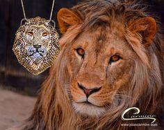 Lançamento Joias Carmine - Coleção Felinos - Leão