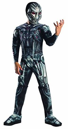 Rubies Costume Avengers 2 Age of Ultron Childs Deluxe Ultron Costume Large >>> For more information, visit image link.