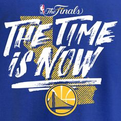 Golden State Warriors Fanatics Branded 2017 NBA Finals Bound Team T-Shirt - Royal