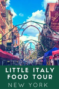 Food Tour By Ahoy New York Tours : Little Italy And China Town