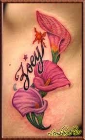 Résultats de recherche d'images pour «tattoo calla»