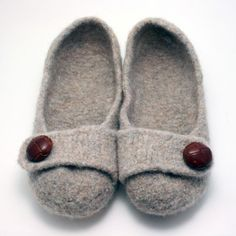 These are the coziest slippers (and the best knitting pattern). The pattern can be found at frenchpressknits.com.