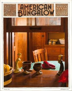 American Bungalow magazine cover story, features what appears to be a home expansion that made use of the original exterior window for a lovely interior focal passthrough. Even if that's not what it shows, that's still a cool concept.