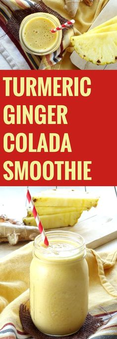 Turmeric Ginger Cola  Turmeric Ginger Colada Smoothie  https://www.pinterest.com/pin/505177283182241720/   Also check out: http://kombuchaguru.com